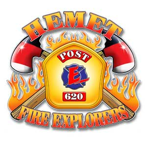 Hemet Fire Department Explorer Logo